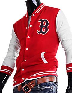 billiga Träning-, jogging- och yogakläder-Herr Lappverk Bombarjacka - Röd sporter Överdelar Långärmad Sportkläder Håller värmen