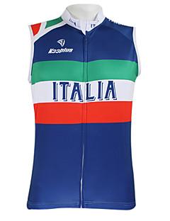 Kooplus Cycling Vest Men's Women's Unisex Sleeveless Bike Vest/Gilet Jersey Top Quick Dry Waterproof Zipper Front Zipper Wearable