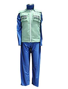 """billige Anime Kostymer-Inspirert av Naruto Hatake Kakashi Anime  """"Cosplay-kostymer"""" Cosplay Klær Lapper Langermet Vest Bukser T-Trøye Til Mann"""