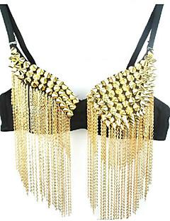 billige Karneval Kostumer-magen dans drakt topper kvinner polyester sleeveless elegant klassisk kjole