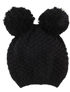 billige Trendy hatter-Dame Søtt Beanie Hatt Ensfarget
