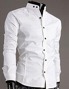 Casual Contrast culoare Tricou barbati de bumbac