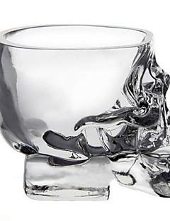 baratos Canecas e Copos-Mini copo de vodca de vidro de vidro utensílios de bebida de uísque para bar de casa estilo fresco