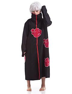 """billige Anime Kostymer-Inspirert av Naruto Sasuke Uchiha Anime  """"Cosplay-kostymer"""" Cosplay Klær Trykt mønster Kappe Til Herre Halloween-kostymer"""