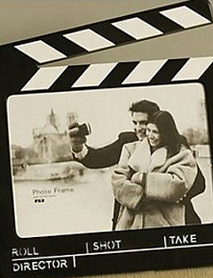 10「H現代スタイルフィルムストリップテーブルトップ写真フレーム