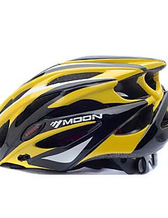 billiga Cykling-MOON Vuxen cykelhjälm 25 Ventiler Stöttålig EPS, PC Vägcykling / Cykling / Cykel / Mountainbike - Gul / Svart Herr / Dam