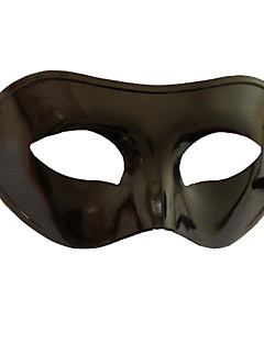 Χαμηλού Κόστους Μάσκες-Απόκριες Μάσκα Ανδρικά Γυναικεία Halloween Απόκριες Νέος Χρόνος Γιορτές / Διακοπές Στολές Μαύρο Μονόχρωμο