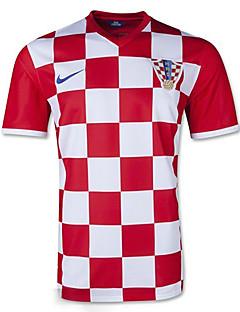 2014 Cupa Mondială Cupa Mondială tricouri Croația Home joc roșu și alb