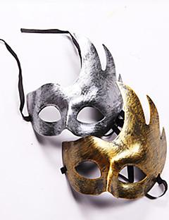 preiswerte Masken & Props-Maske Herrn Damen Halloween Karneval Fest / Feiertage Halloween Kostüme Silber Golden