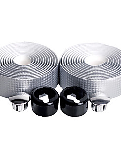 Fietsen Stuurlint zilverachtig Koolstofvezel / PUNUCKILY