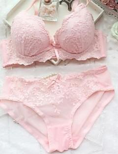kvinners blonder brodert sexy BH sett