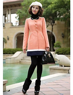 Women's Fashion Sweet Wool Winter Coat