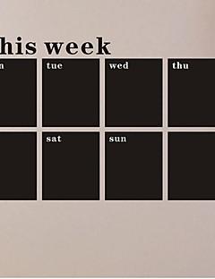 ieftine Acțibilduri de Tablă-Tablă de scris cu creta Perete Postituri Acțibilduri de Tablă Autocolante de Perete Decorative, PVC Pagina de decorare de perete Decal