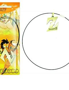 billige Anime cosplay-Smykker Inspirert av Dragon Ball Cosplay Anime Cosplay Tilbehør Halskjede Sølv Legering Mann / Kvinnelig
