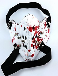 cheap Anime Cosplay-Mask Inspired by Tokyo Ghoul Cosplay Anime Cosplay Accessories Mask PU Leather Men's New Hot