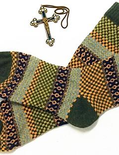 billige Herremote og klær-Herre Sexy Sokker - Stripet