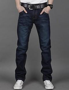 Männer gerade dunkelblaue Jeans