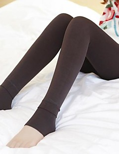 Women's Plus Velvet Pearl Cashmere Hosiery  for Winter