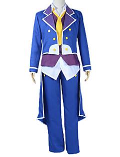 """billige Anime cosplay-Inspirert av Intet Spill Intet Liv Sora Anime  """"Cosplay-kostymer"""" Cosplay Klær Lapper Langermet Frakk Vest Trøye Bukser Slips Til Mann"""