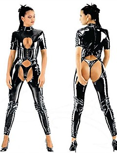 billige Sexy kostymer-uniformer Cosplay Kostumer Dame Halloween Festival / høytid Halloween-kostymer Drakter Sexy Uniformer