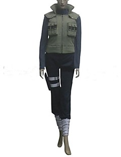 """billige Anime Kostymer-Inspirert av Naruto Hinata Hyuga Anime  """"Cosplay-kostymer"""" Cosplay Klær Lapper Langermet Bandasje Vest Topp Bukser Lomme Til Kvinnelig"""