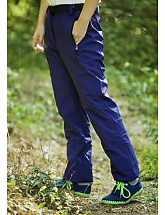 tanie Turystyczne spodnie i szorty-Damskie Spodnie turystyczne Na wolnym powietrzu Odporność na wiatr, Wodoodporny, Keep Warm Zima Polar Spodnie Narciarstwo Sporty zimowe Snowboard L XL XXL