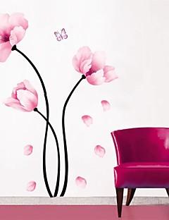 preiswerte Botanische Wandsticker-Blumen Botanisch Wand-Sticker Flugzeug-Wand Sticker Dekorative Wand Sticker, PVC Haus Dekoration Wandtattoo Wand