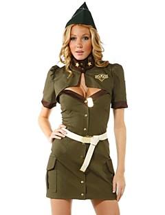 Uniformen Cosplay Kostüme Frau Fest/Feiertage Halloween Kostüme Hohl
