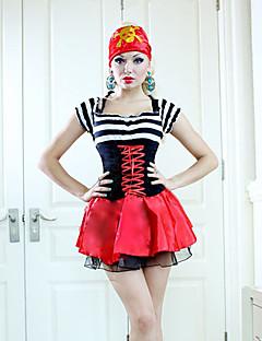 Korsan Cosplay Kostümleri Parti Kostümleri Kadın Cadılar Bayramı Karnaval Festival / Tatil Cadılar Bayramı Kostümleri Kırk Yama