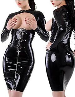 ieftine PU & SM-Uniforme Costume Cosplay Pentru femei Halloween / Carnaval / An Nou Festival / Sărbătoare Costume de Halloween Uniforme sexy