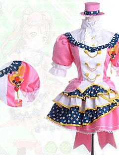 cheap Anime Cosplay-Inspired by Love Live Kotori Minami Anime Cosplay Costumes Cosplay Suits Patchwork Short Sleeves Shirt Skirt Headpiece For Female