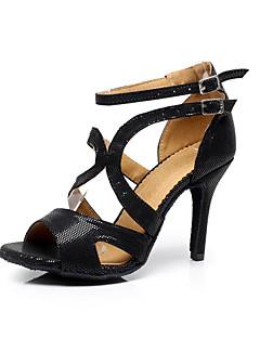 Latin/Salsa/Samba/Performanță - Pantofi de dans (Negru) - Personalizat - Pentru femei