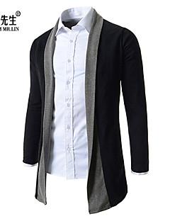 baratos Suéteres & Cardigans Masculinos-Homens Clássico Carregam - Estampa Colorida, Estilo vintage