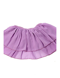 Retailed Toddler Girls Flutter Ruffle Short Sleeve Leotard Kids Dancewear Chiffon Skirt 4-14Y