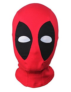 billige Zentai-Maske Superhelter Zentai Cosplay-kostymer Lapper Maske Spandex Elastan Herre Dame Halloween / Høy Elastisitet