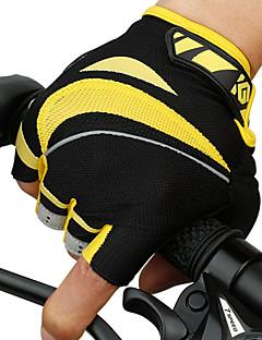 billiga Cykling-CoolChange Aktivitet/Sport Handskar Cykelhandskar Vattentät Reflekterande Bärbar Andningsfunktion Slitsäker Fingerlösa Nät Cykling / Cykel