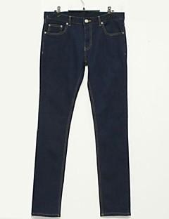お買い得  メンズジーンズ-男性用 ベーシック パンツ パンツ ソリッド