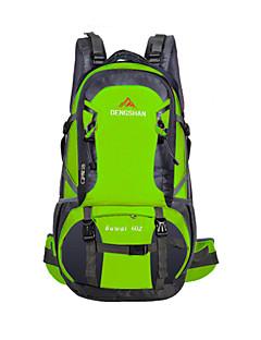billiga Ryggsäckar och väskor-60 L Ryggsäckar - Vattentät, Regnsäker, Fuktighetsskyddad Utomhus Camping, Jakt, Fritid Sport Terylen Röd, Grön, Blå