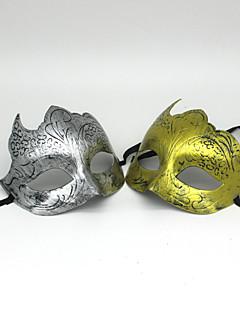 billige Halloweenkostymer-Karneval Halloween Utstyr Herre Dame Jul Halloween Karneval Nytt År Festival / høytid Halloween-kostymer Sølv Gylden Ensfarget
