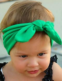 tanie Akcesoria dla dzieci-Akcesoria do włosów - Dla dziewczynek - Na każdy sezon - Bawełna - Opaski na głowę - Fuchsia Czerwony Green Różowy Light Blue