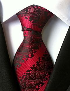 Bărbați Imprimeu Toate Sezoanele Birou Poliester,Cravată Curcubeu