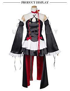 """billige Anime Kostymer-Inspirert av Slam Dunk Cosplay Anime  """"Cosplay-kostymer"""" Cosplay Klær Topp / Skjørte / Sløyfe Til Herre / Dame / Satin"""