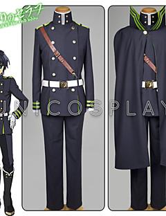 """Inspirert av Hunter X Hunter Yui Anime  """"Cosplay-kostymer"""" Cosplay Klær Ensfarget Trøye Topp Hansker Belte Klokker Til Mann Kvinnelig"""