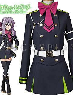 """billige Anime Kostymer-Inspirert av Seraf av End Hiiragi Tsukasa Anime  """"Cosplay-kostymer"""" Cosplay Klær Topp / Skjørte / Belte Til Herre / Dame"""