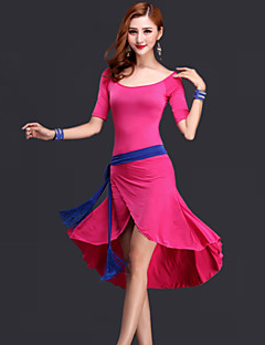 cheap New Arrivals-Belly Dance Dresses Women's Performance Rayon Draping Dress Belt Shorts