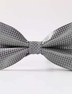 tanie Pan młody i drużbowie-Męskie Luksusowy Kratka Klasyczny Imprezowa Ślub Modne Muszka Kreatywne