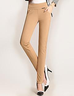 ieftine Pantaloni de Damă-Pentru femei Mărime Plus Size Skinny Blugi Pantaloni Mată
