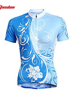 billiga Cykling-TASDAN Dam Kortärmad Cykeltröja Cykel Tröja / Klädesset, Snabb tork, UV-Resistent, Andningsfunktion