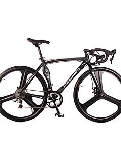baratos Total Promoção Limpa Estoque-Bicicletas de estrada Ciclismo 18 velocidade 26 polegadas / 700CC SHIMANO TX30 BB5 Freio a Disco Sem Amortecedor alumínio Liga de alumínio