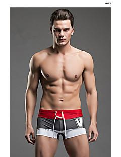 בגדי ריקוד גברים ייבוש מהיר חדירות ללחות חדירות גבוהה לאוויר (מעל 15,000 גרם) נושם חלק חומרים קלים בד קל מאוד תומך זיעה ניילון Chinlon